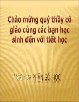 Thao giang:Bai1 Lam quen voi so nguyen am