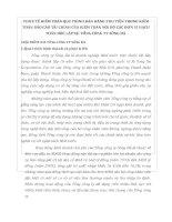 THỰC TẾ KIỂM TOÁN QUY TRÌNH BÁN HÀNG THU TIỀN TRONG KIỂM TOÁN BÁO CÁO TÀI CHÍNH CỦA KIỂM TOÁN NỘI BỘ CÁC ĐƠN VỊ HẠCH TOÁN ĐỘC LẬPTẠI TỔNG CÔNG TY SÔNG ĐÀ