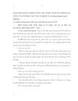 GIẢI PHÁP HOÀN THIỆN CÔNG TÁC PHÂN TÍCH TÀI CHÍNH TẠI CÔNG TY CỔ PHẦN VẬN TẢI VÀ DỊCH VỤ PETROLIMEX HẢI PHÒNG