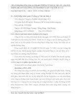 TỔNG QUAN VỀ CÔNG TY CỔ PHẦN VẬN TẢI THỦY 4 XÍ NGHIỆP DỊCH VỤ - TRỤC VỚT - CÔNG TRÌNH