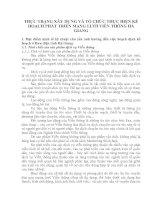 THỰC TRẠNG XÂY DỰNG VÀ TỔ CHỨC THỰC HIỆN KẾ HOẠCH PHÁT TRIỂN MẠNG LƯỚI VIỄN THÔNG HÀ GIANG