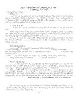 Kịch bản hướng dẫn đại hội Chi đội