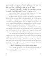 HOÀN THIỆN CÔNG TÁC TỔ CHỨC KẾ TOÁN TẬP HỢP CHI PHÍ SẢN XUẤT TẠI CÔNG TY XÂY DỰNG LŨNG LÔ