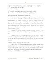 MỘT SỐ GIẢI PHÁP HOÀN THIỆN HOẠT ĐỘNG ĐT & PTNNL CỦA CÔNG TY ĐÔNG DƯƠNG