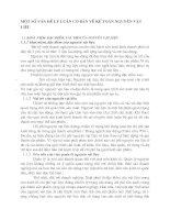 MỘT SỐ VẤN ĐỀ LÝ LUẬN CƠ BẢN VỀ KẾ TOÁN NGUYÊN VẬT LIỆU