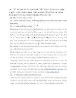 MỘT SỐ VẤN ĐỀ LÝ LUẬN CƠ BẢN VỀ CÔNG TÁC HOẠCH ĐỊNH CHIẾN LƯỢC THÂM NHẬP THỊ TRƯỜNG CỦA CÔNG TY TNHH KIM KHÍ TUẤN ĐẠT TRÊN THỊ TRƯỜNG HÀ NỘI