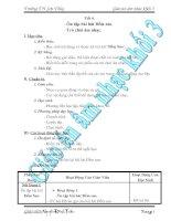 Giáo Án Âm Nhạc Lớp 3 - Tiết 6