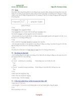 Giáo trình Toefl - Ba động từ đặc biệt