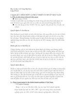 Chuyên đề 3: ĐỔI MỚI VÀ PHÁT TRIỂN TÀI CHÍNH DOANH NGHIỆP Ở VIỆT NAM