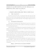 ÁP DỤNG 5S TẠO MÔI TRƯỜNG LÀM VIỆC HIỆU QUẢ CÁC PHÒNG BAN CHỨC NĂNG TẠI CÔNG TY