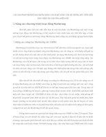 CÁC GIẢI PHÁP MARKETING NHẰM NÂNG CAO HOẠT ĐỘNG CỦA HỆ THỐNG XÚC TIẾN HỖN HỢP TRÊN THỊ TRƯỜNG MIỀN BẮC
