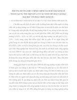 PHƯƠNG HƯỚNG ĐIỀU CHỈNH CHÍNH SÁCH HỖ TRỢ KINH TẾ NHẰM TẠO SỰ PHÙ HỢP GIỮA CƠ CẦU SINH VIÊN ĐÀO TẠO BẬC ĐẠI HỌC VỚI PHÁT TRIỂN KINH TẾ