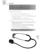writing skills - Health