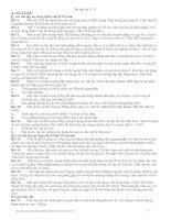 Ôn tập chương 2-Động lực học