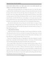 GIẢI PHÁP NHẰM NÂNG CAO HIỆU QUẢ SẢN SUẤT KINH DOANH TẠI CÔNG TY CỔ PHẦN NĂNG LƯỢG VIỆT ÚC
