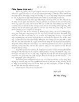 Thư xin lỗi thầy Đỗ Gia Quang và các cô giáo