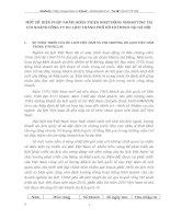 MỘT SỐ  BIỆN PHÁP NHẰM HOÀN THIỆN HOẠT ĐỘNG MARKETING TẠI CHI NHÁNH CÔNG TY DU LỊCH THÀNH PHỐ HỒ CHÍ MINH TẠI HÀ NỘI