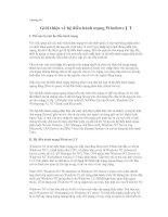Giới thiệu về hệ điều hành mạngWindows NT