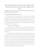 THỰC TRẠNG KẾ TOÁN TIÊU THỤ VÀ XÁC   ĐỊNH KẾT QUẢ TIÊU THỤ TẠI CÔNG TY XĂNG DẦU HÀNG KHÔNG VIỆT NAM