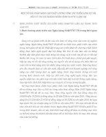 MỘT SỐ GIẢI PHÁP NÂNG CAO CHẤT LƯỢNG CÔNG TÁC THẨM ĐỊNH DỰ ÁN ĐẦU TƯ TẠI CHI NHÁNH NGÂN HÀNG NoPTNT LÁNG HẠ