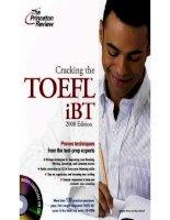 Cracking the toefl ibt 2008 part 1