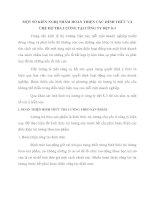MỘT SỐ KIẾN NGHỊ NHẰM HOÀN THIỆN CÁC HÌNH THỨC VÀ CHẾ ĐỘ TRẢ LƯƠNG TẠI CÔNG TY DỆT 8-3