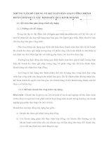 NHỮNG VẤN ĐỀ CHUNG VỀ KẾ TOÁN BÀN GIAO CÔNG TRÌNH HOÀN THÀNH VÀ XÁC ĐỊNH KẾT QUẢ KINH DOANH
