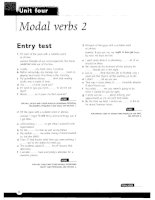 Grammar and Vocabulary for Cambridge Advanced and Proficiency - Modal verbs 2