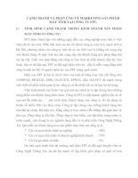 CẠNH TRANH VÀ PHẢN ỨNG VỀ MARKETING SẢN PHẨM MÁY TÍNH TẠI CÔNG TY FPT