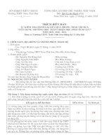Biên bản Tự kiểm tra đánh giá cho điểm THTT_HSTC
