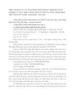 THỰC TRẠNG VÀ CÁC GIẢI PHÁP NHẰM HOÀN THIỆN KẾ TOÁN NGHIỆP VỤ XUẤT KHẨU HÀNG HOÁ Ở CÔNG TY XUẤT NHẬP KHẨU THỦ CÔNG MỸ NGHỆ  ATEXPORT