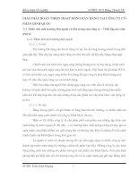GIẢI PHÁP HOÀN THIỆN HOẠT ĐỘNG BÁN HÀNG TẠI CÔNG TY CỔ PHẦN ĐÌNH QUỐC