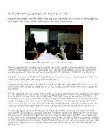 Ba điều kiện thi nâng ngạch giáo viên trung học cao cấp