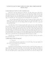 CƠ SỞ LÝ LUẬN VÀ THỰC TIỄN CỦA VIỆC PHÁT TRIỂN KINH TẾ TRANG TRẠI