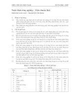 Tiêu chuẩn việt nam TCVN 5945 : 1995 Nước thải công nghiệp