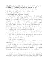 PHÂN TÍCH TÌNH HÌNH TRẢ CÔNG LAO ĐỘNG TẠI CÔNG TY CỔ PHẦN SẢN XUẤT VÀ KINH DOANH KIM KHÍ HẢI PHÒNG