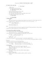Chuyên đề phản ứng oxi hóa - khử( rất hay)