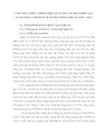 CHƯƠNG 2 THỰC TRẠNG HIỆU QUẢ CHO VAY HỘ NGHÈO TẠI NGÂN HÀNG CHÍNH SÁCH XÃ HỘI TỈNH NGHỆ AN