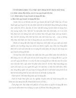 CƠ SỞ KHOA HỌC CỦA VIỆC QUY HOẠCH SỬ DỤNG ĐẤT ĐAI