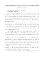 MỘT SỐ GIẢI PHÁP HUY ĐỘNG VỐN ĐẦU TƯ PHÁT TRIỂN NGÀNH THỦY SẢN NGHỆ AN