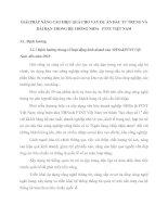 GIẢI PHÁP NÂNG CAO HIỆU QUẢ CHO VAY DỰ ÁN ĐẦU TƯ TRUNG VÀ DÀI HẠN TRONG HỆ THỐNG NHNo   PTNT VIỆT NAM