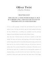 LUYỆN ĐỌC TIẾNG ANH QUA TÁC PHẨM VĂN HỌC-Oliver Twist -Charles Dickens -CHAPTER 24