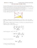 Các bài toán về Tính diện tích - Hình 8