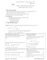 Dạy thêm toán 9