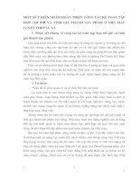 MỘT SỐ Ý KIẾN NHẰM HOÀN THIỆN CÔNG TÁC KẾ TOÁN TẬP HỢP CHI PHÍ VÀ TÍNH GIÁ THÀNH SẢN PHẨM Ở NHÀ MÀY LUYỆN THÉP LƯU XÁ