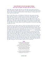 Các bài thơ hay để làm báo tường 20-11