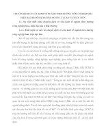 CHUYỂN DỊCH CƠ CẤU KINH TẾ NGÀNH THEO HƯỚNG CÔNG NGHIỆP HÓA  HIỆN ĐẠI HÓA Ở HẢI DƯƠNG CƠ SỞ  LÝ LUẬN VÀ THỰC TIỄN