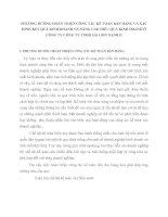 PHƯƠNG HƯỚNG HOÀN THIỆN CÔNG TÁC KẾ TOÁN BÁN HÀNG VÀ XÁC ĐỊNH KẾT QUẢ KINH DOANH VÀ NÂNG CAO HIỆU QUẢ KINH DOANH Ở CÔNG TY CÔNG TY TNHH SÀI GÒN XANH II