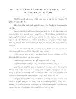 THỰC TRẠNG TỔ CHỨC KẾ TOÁN NGUYÊN VẬT LIỆU TẠI CÔNG TY CỔ PHẦN ĐÓNG TẦU HÀ NỘI