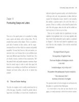 Punctuating Essays and Letters
